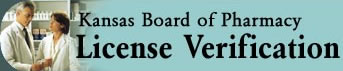 Kansas Board of Pharmacy License Verification