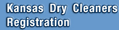 Kansas Dry Cleaners Registration