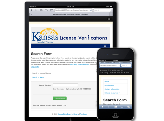 Kansas State Board Of Nursing License Verification